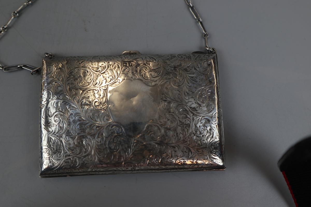 Unusual hallmarked silver note case/purse - W H Hassler circa 1914 - Image 2 of 5