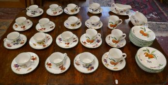 Large collection of Royal Worcester - Evesham pattern