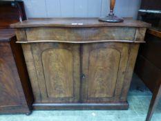 A 19th century mahogany chiffonier,