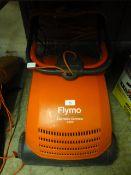 A Flymo lawnrake compact 3400