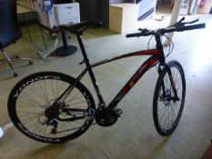 An unused Extreme XRRI Camacho bike in black CONDITION REPORT: Bike may required