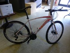 An unused Extreme XRRI Camacho bike in white CONDITION REPORT: Bike may required