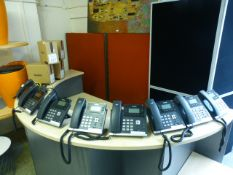 Twelve Yealink telephones