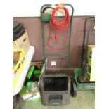 A Qualcast electric scarifier