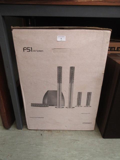 A Mission FS1 AV system