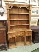 A pine dresser,