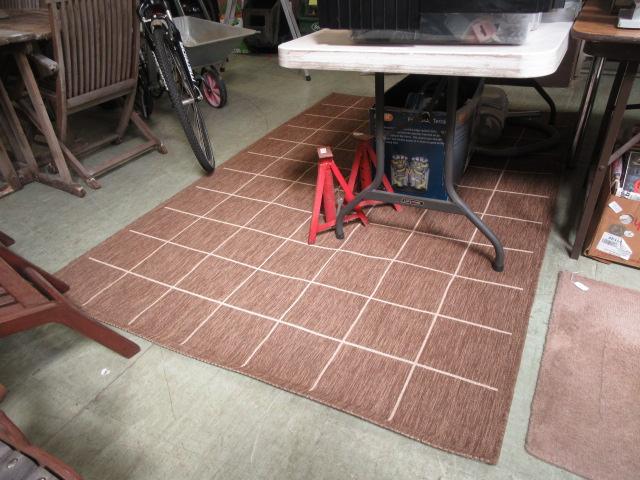 A modern rug