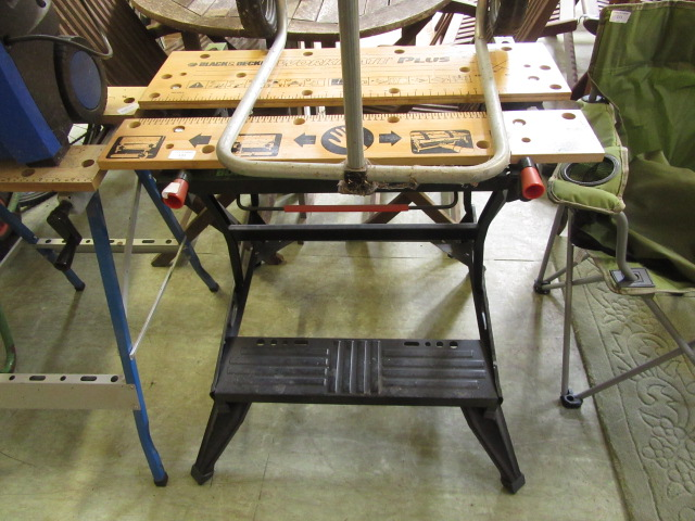A Black and Decker Workmate Plus