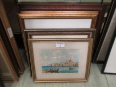 A selection of framed and glazed prints to include Cecil Aldin,