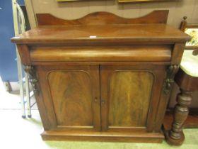 A Victorian mahogany chiffonier,