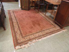 A modern eastern style rug