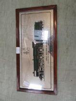 A Great western Railway advertising mirror