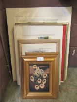 A quantity of framed and unframed prints to include Mark Hampton, Beryl Cook etc.