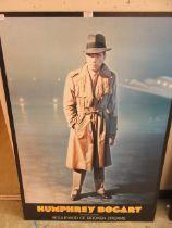 A poster of Humphrey Bogart