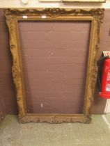 An ornate picture frame