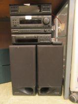 A Kenwood hi-fi system