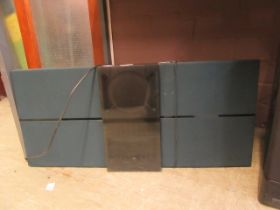 A Bang And Olufsen BO sound sentry hi-fi system (no remote)