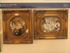 Two framed and glazed photographic prints of a western theme
