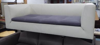 LIGNE ROSET SOFA, 193cm W approx. (with faults).