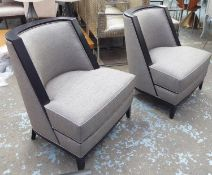 TAYLOR HOWES SIDE CHAIRS, a pair, each 78cm W. (2)