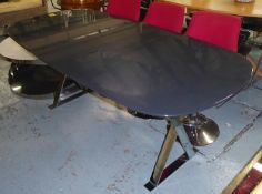 MAXALTO PATHOS DINING TABLE, by Antonio Citterio, 29cm x 90cm x 73.5cm. (slight faults)