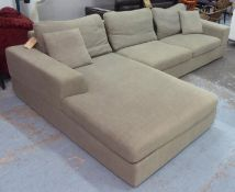 DWELL VERONA CORNER SOFA, in two sections, 315cm x 177cm. (with faults)
