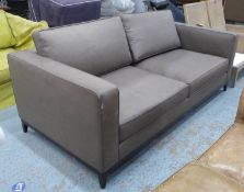 SOFA AND CHAIR COMPANY SOFA, 209cm W approx. (with faults)