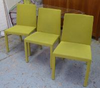 POLIFORM FLY DINING CHAIRS, a set of six, by Carlo Colombo, 87cm H. (6)
