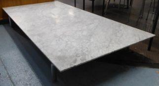 B&B ITALIA DIESIS LOW TABLE, by Antonio Citterio, 190cm x 95cm x 26.5cm approx, 190cm x 95cm x 26.