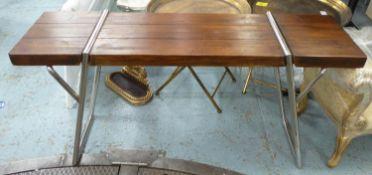 CONSOLE TABLE, contemporary design, 150cm x 40cm x 78cm.