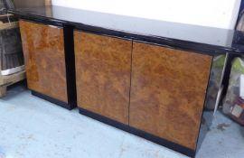 LUCATELLO SIDEBOARD, vintage Italian, 188cm x 50cm x 73cm approx. (slight faults)