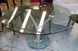 ROLF BENZ 1210 DINING TABLE, 140cm x 74cm.