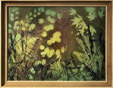 K. W. WHYATT 'Still Life', oil on bard, signed, 59cm x 44cm, framed.