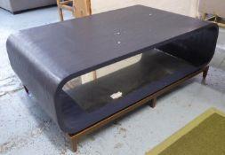 JULIAN CHICHESTER WILHELM LOW TABLE, 125cm x 76cm x 46cm. (slight faults)