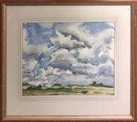 M. DICKSON 'Landscape', watercolour, signed, 28cm x 36cm, framed.