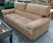 LIGNE ROSET PALLAS SOFA BY CLAUDE BRISSON, 210cm W approx. (with faults)