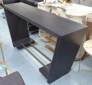 TAYLOR HOWES BESPOKE CONSOLE TABLE, 40cm D x 88cm h x 171cm W.