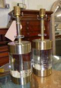 JOHN RICHARD TABLE LAMPS, a pair, 47cm H. (2)