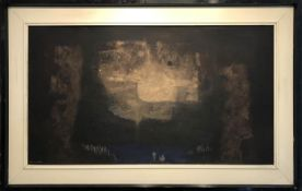 LUIS ACOSTA MORO (1941-2014 Barcelona) 'Scene with Figures, Crossing the River Styx', watercolour,