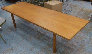 ANDREAS TRUCK AT-12 TABLE BY HANS J WEGNER, 185.5cm x 61.5cm x 48cm.