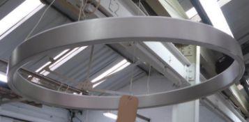 CEILING LIGHT, contemporary led ring design, 60cm diam approx.