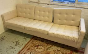 AFTER FLORENCE KNOLL SOFA, 227cm.