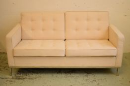 AFTER FLORENCE KNOLL SOFA, 158cm W.