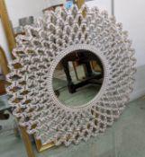 WALL MIRROR, Moroccan style design, 122cm Diam.