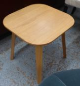 SIDE TABLE, 1960's Danish style, 46cm H.
