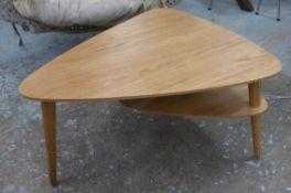 LOW TABLE, 1960s Danish style, 92.5cm x 70cm x 456cm.