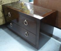 PORTA ROMANA CONKER LOW CHEST, 95cm x 45cm x 60cm.