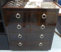 PORTA ROMANA CONKER CHEST OF DRAWERS, 95cm x 45cm x 105cm.