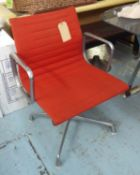 HERMAN MILLER ALUMINIUM GROUP CHAIR BY CHARLES AND RAY EAMES, 83cm H.