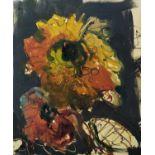 MARTIN KINNEAR (b.1969), 'Study XXVI' oil on canvas, 40cm x 30cm, monogrammed, label verso, framed.